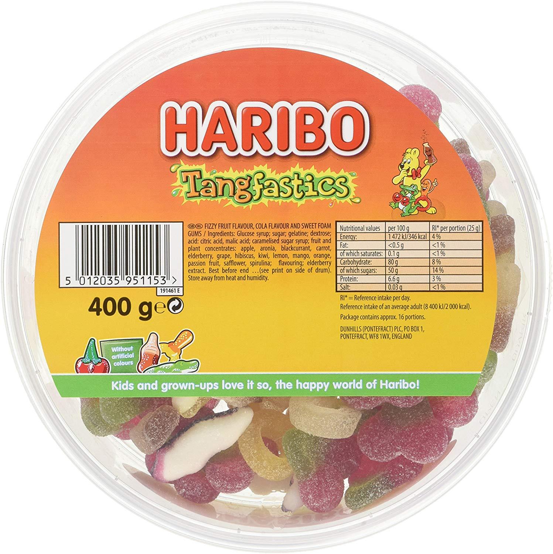 Haribo Tangfastics Sours Bulk tub Sweets 400g £2.00 @ Amazon (+£4.49 Non-prime)