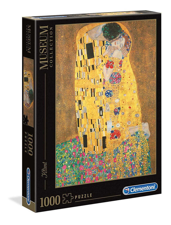 Clementoni Jigsaw Puzzle 1000 Pieces Klimt: The Kiss £8.35 Prime / £11.84 Non prime @ Amazon
