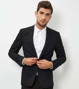 Black Skinny Suit Jacket £10 @ New Look (+£1.99 C&C)