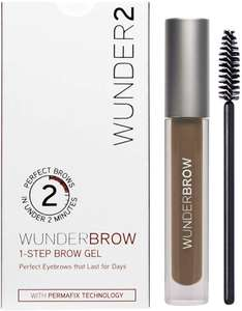 WUNDER2 WUNDERBROW Long Lasting Vegan Eyebrow Gel for Waterproof Eyebrow Makeup, Black/Brown Color £5 (+£4.49 For Non-Prime) @ Amazon