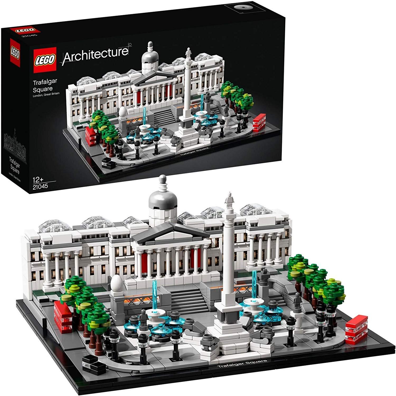 LEGO 21045 Architecture Trafalgar Square Building Set with London Landmark National Gallery Collectible Model £54.69 @ Amazon