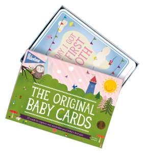 Original Baby Keepsake Cards by Milestone - Newborn's First Year Memories now £6.49 (Prime) + £4.49 (non Prime) at Amazon