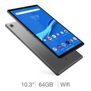Lenovo M10 Plus (2nd Gen), 10.3 inch 4GB RAM Tablet with Android Pie OS Tablet, ZA5T0242GB £149.89 @ Costco (Members Only)