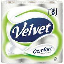 Velvet Comfort 5 x 9 Pack (45 rolls) £10.78 / Surf 130 Washes £8.99 @ Costco (Members Only)
