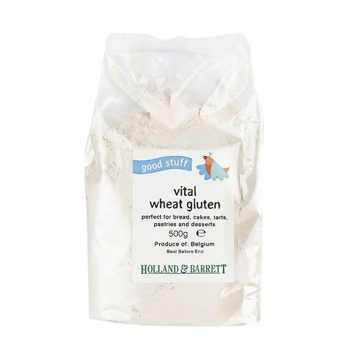 Vital Wheat Gluten 500g £1.99 - vegan protein source at Holland and Barrett