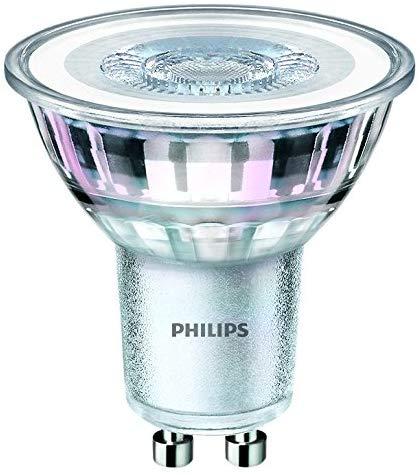 Philips 3 Pack GU10 Led Classic Glass bulbs Warm White £3 at Amazon Prime / £7.49 Non Prime