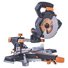 Evolution R185SMS 185mm Electric Single-Bevel Sliding Mitre Saw 240V - £89.99 at Screwfix