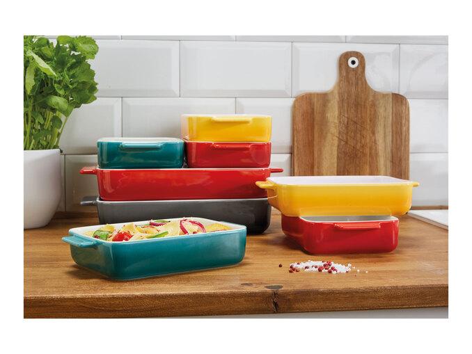 Lidl - Ernesto - Stoneware Oven Dish 32.2 x 19 x 5.5cm or Stoneware Oven Dish Set 22.7 x 12.9 x 4.5cm - 2pack