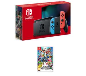 NINTENDO Switch & Super Smash Bros. Ultimate Bundle £314 @ Currys PC World