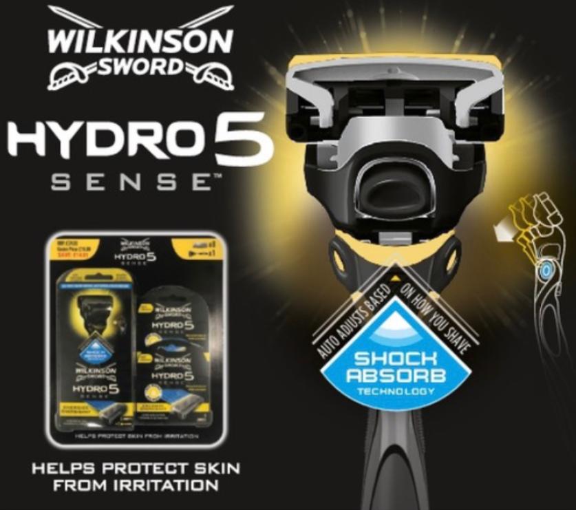 Wilkinson's sword hydro sense razor & 8 blades £13.18 @ Costco