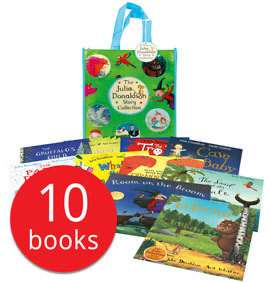 10 Julia Donaldson books including The Gruffalo £8.00+ £2.95 postage @ The Book People