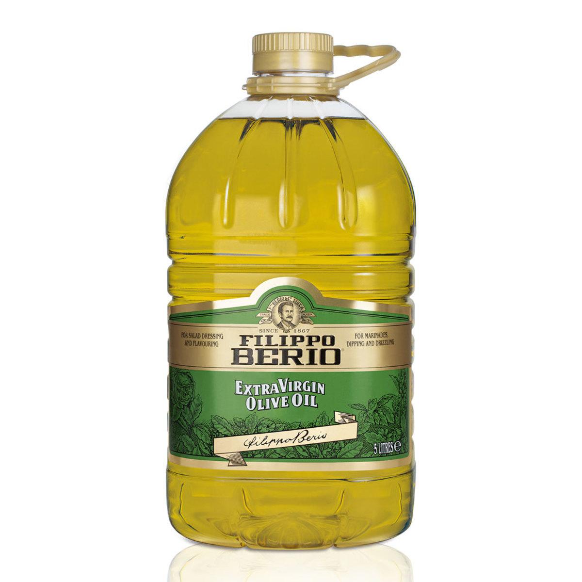 Filippo Berio Extra Virgin Olive Oil 5 Litres for £15.99 at Costco