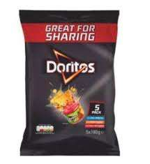 5X180g Doritos Multipack at Costco for £3.79