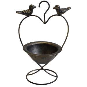 Mansion Garden Hanging Bird Feeder on Stand, Now £2.12 +Free Click & Collect @ Robert Dyas