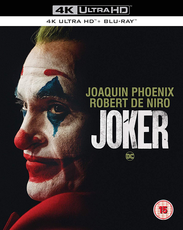 Joker [4K Blu-ray] [2019] [Region Free] £22.07 @ Amazon