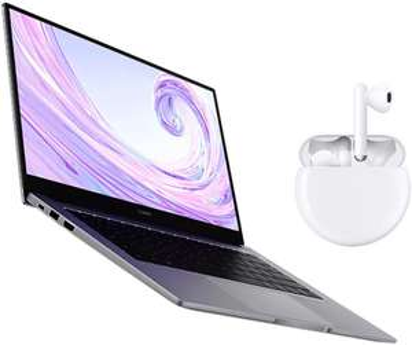 "HUAWEI MateBook D14 2020 (14""FullView/FHD Ultrabook/Laptop/AMD Ryzen5 3500U/8GB RAM/512GB SSD)+HUAWEI Freebuds 3 - £649.99 Preorder @ Amazon"
