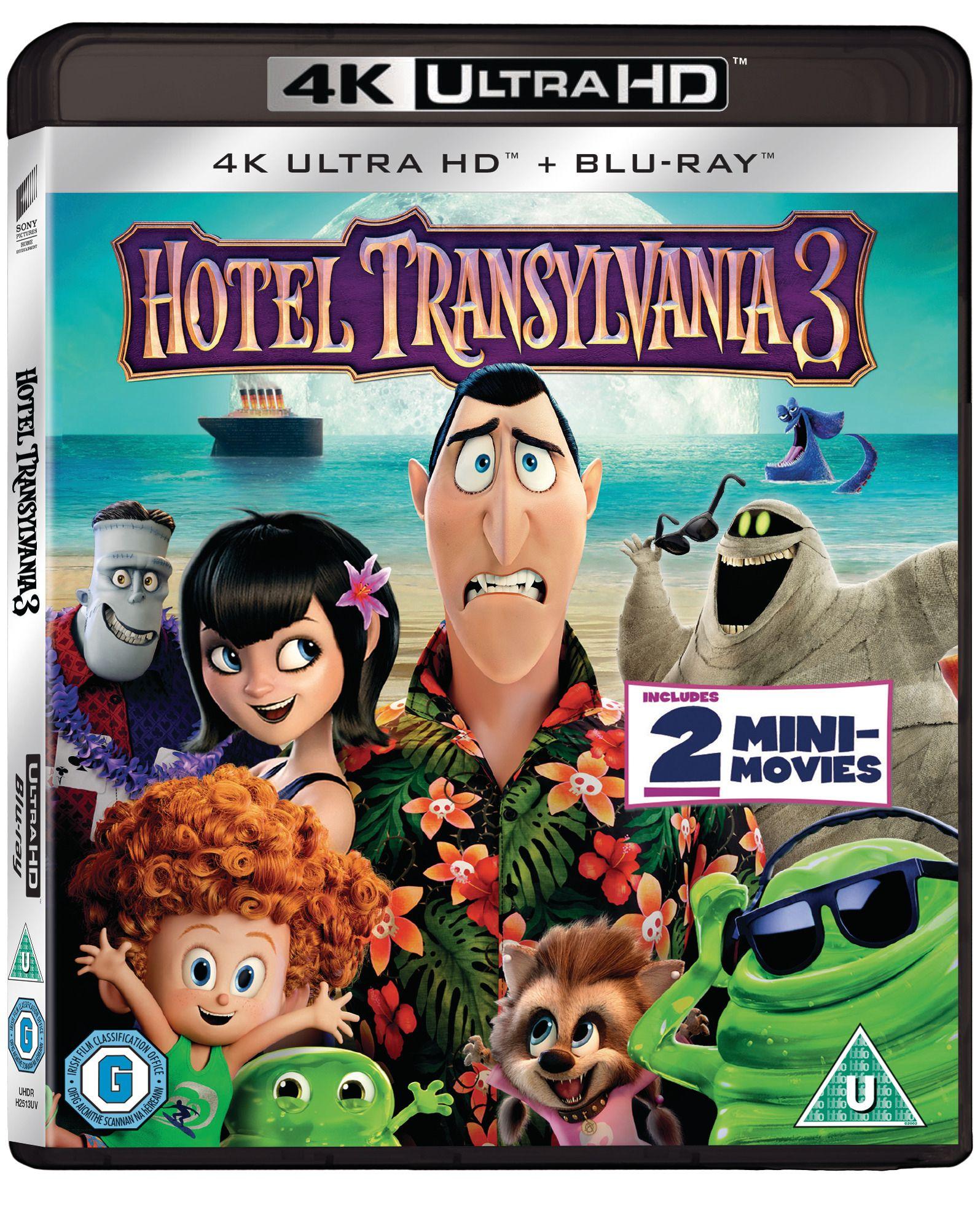 Hotel Transylvania 3 4k UHD + blu ray £8.49 @ HMV (Free click and collect)