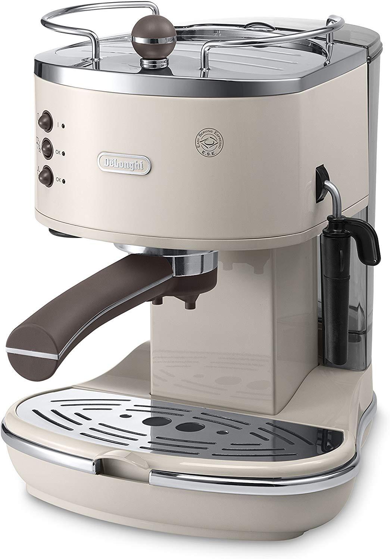 (Used) De'Longhi Vintage Icona ECOV311BG Traditional Pump Espresso Machine - Cream £36.83 @ Amazon Warehouse