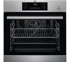AEG BES352010M SteamBake Electric Oven - Stainless Steel - £199.97 delivered @ Currys PC World