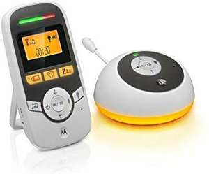 Motorola MBP161TIMER Digital Audio Baby Monitor with Baby Care Timer £14.99 prime / £19.48 non prime Amazon