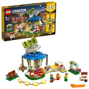 LEGO 31095 Creator 3in1 Fairground Carousel now £31.47 delivered at Amazon