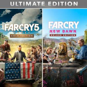 Far cry 5 / New dawn Ultimate edition bundle £29.99 Psn
