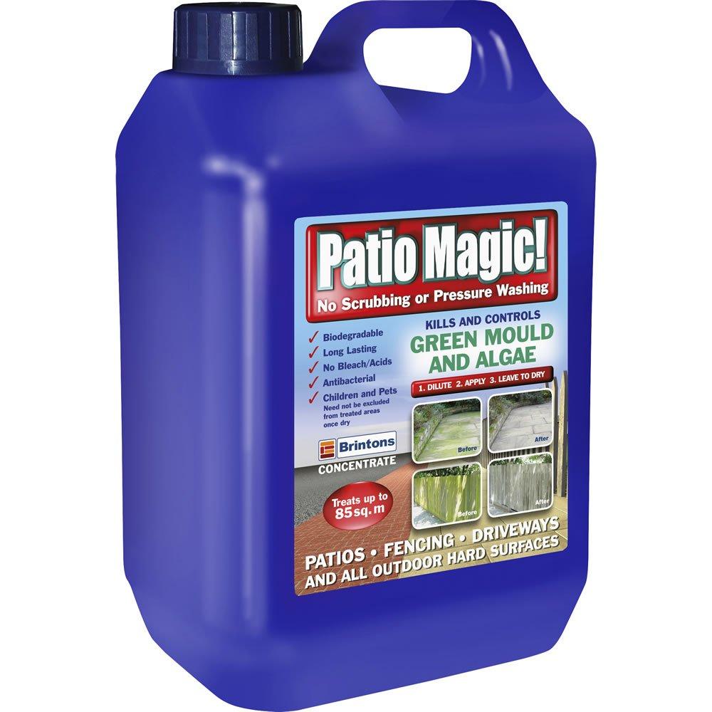 Patio Magic 2.5L £6 @ Wilko Instore / £2 Click and Collect