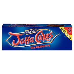 Jaffa cakes strawberry/ lemon and lime 50p @ Tesco