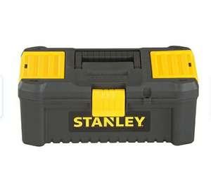 """Stanley 12.5"""" Essential Toolbox £4.24 @ robertdyas - Free Click & Collect"""