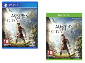 Assassin's Creed Odyssey [PS4/Xbox One] for £16.99 free Click & Collect @ Smythstoys