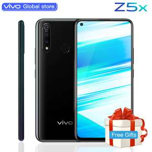 "vivo Z5x Mobile Phone 6.53"" Screen 6Gb 128G Snapdragon710 Octa Core Android 9 5000mAh Smartphone £111.63 AliExpress VIVO Global Store"
