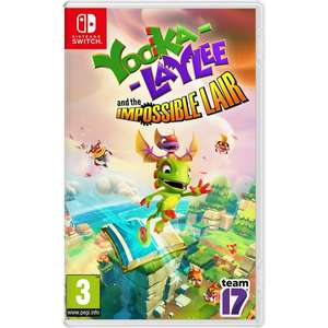 Yooka-Laylee and the Impossible Lair Nintendo Switch for £15.99 Free Click and Collect @ SmythsToys