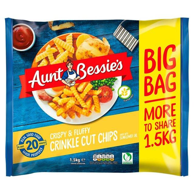 Aunt Bessie's Crinkle Cut Chips 1.5kg £1.50 @ Morrisons