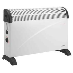 2000W Convection Heater - £12 + free Click and Collect @ Homebase