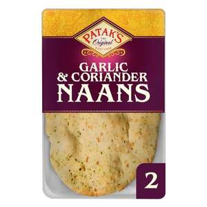 Pataks Naan Breads Half Price Offer 84p @ Tescos