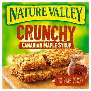 Nature valley crunch granola bars 5 X 42g (various)£1.19 @ Tesco