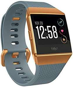 Fitbit Ionic Health & Fitness Smartwatch (GPS) with Heart Rate, Swim Tracking & Music - Slate Blue/Burnt Orange £149.99 @ Amazon