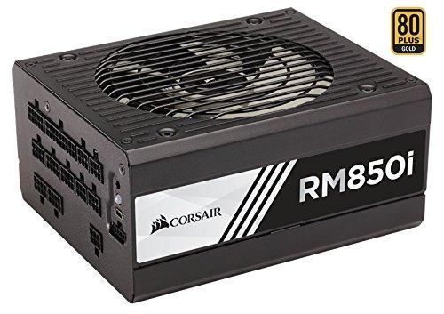 Corsair RMi Series RM850i ATX/EPS Fully Modular 80 PLUS Gold 850 W Power Supply Unit - Black - £109.99 @ Amazon