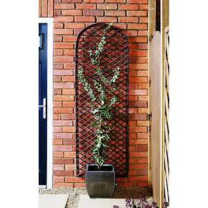 Wickes Willow Curved Trellis - 183cm x 60cm for £8 click & collect @ Wickes