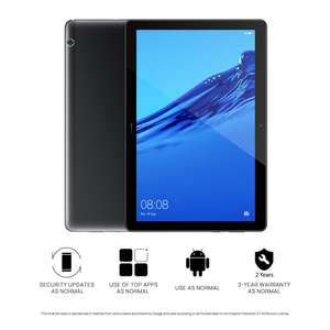 "HUAWEI MediaPad T5 - 10.1"" RAM 3GB, ROM 32GB, £139.00 from Amazon"
