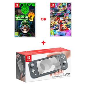 Nintendo Switch Lite + Pokémon Sword/Shield \ Luigi's Mansion \ Mario Kart/Odyssey/Maker/Bros/Olympics \ Links Awakening £199.99 @ Smyths