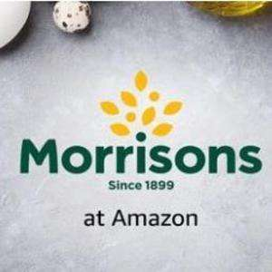£10 off £40 spend (25%) off first shop at Morrisons Shop through Amazon Prime Now (Prime Members only)
