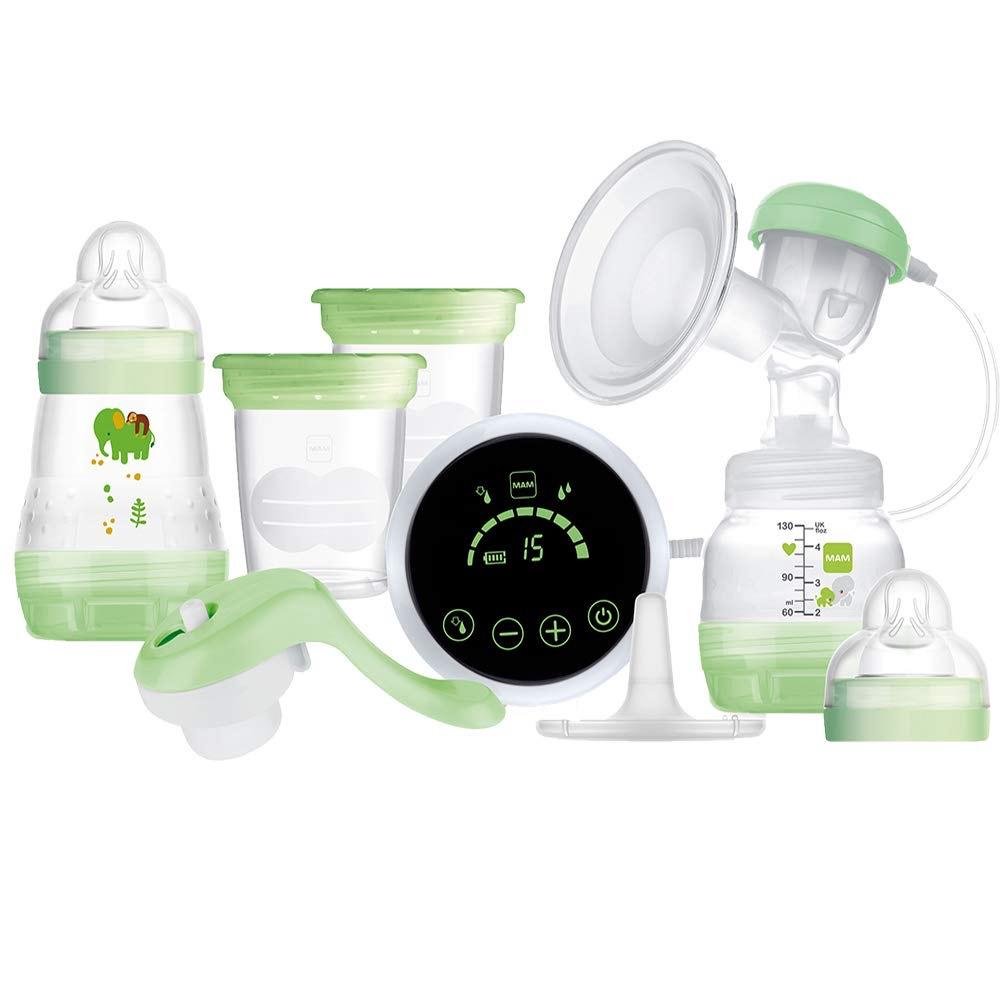 MAM 2-in-1 Single Breast Pump, Flexible Use Electric and Manual Breast Milk Pump - £39 @ Amazon
