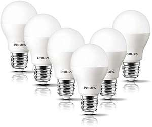 Philips LED E27 Frosted Light Bulbs, 8 W (60 W) - Warm White, Pack of 6 £9.99 (+£4,49 NP) Delivered @ Amazon