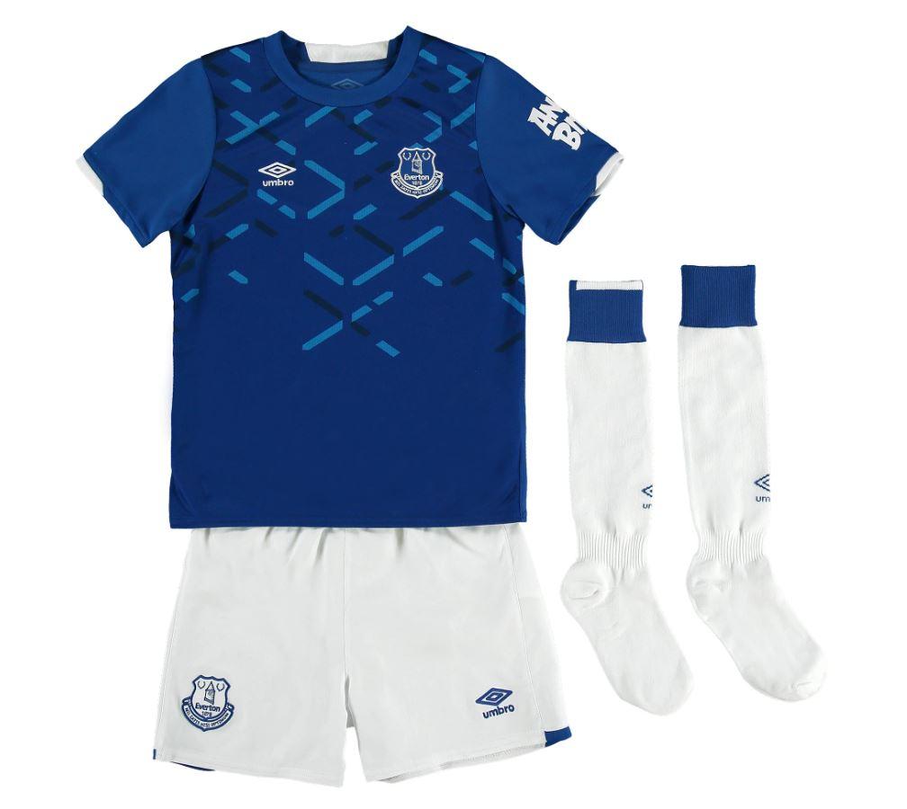 Everton FC - Kid's 2019-20 Home Kit - Free C&C £11.40