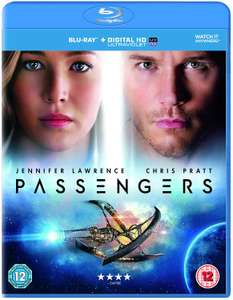 Passengers (Blu-ray, + Digital Google Code) £2.49 HMV instore (Stevenage)
