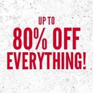 Upto 80% off everything at boohoo