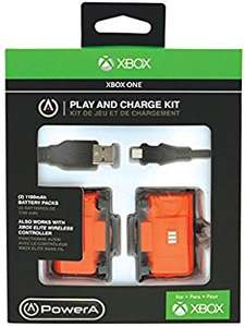 PowerA Play and Charge Kit for Xbox One - Officially licensed by Microsoft - (Free Click and Collect) £8.99 @ Argos