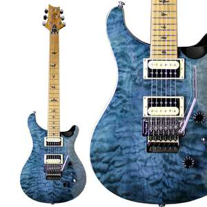 PRS SE Custom 24 Ltd Edition Guitar - With Floyd Rose / Roasted Maple Neck + Gigbag - £699 With Free Next Day delivery @ GuitarGuitar