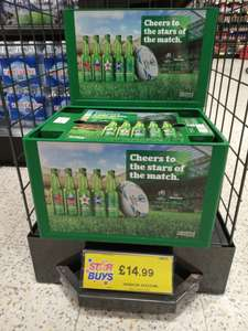24 x 330ml glass bottles of Heineken with plastic crate £14.99 @ Home Bargains Scunthorpe